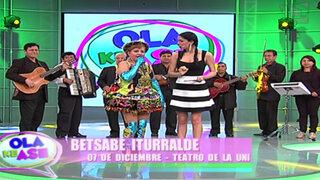 Desde Bolivia llega Betzabé Iturralde para cantarnos 'Uchu luru ñawisitu'