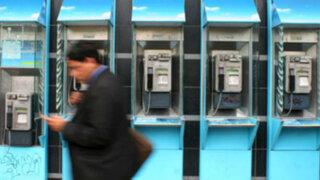 Bajan en 9% las llamadas de teléfonos públicos a celulares