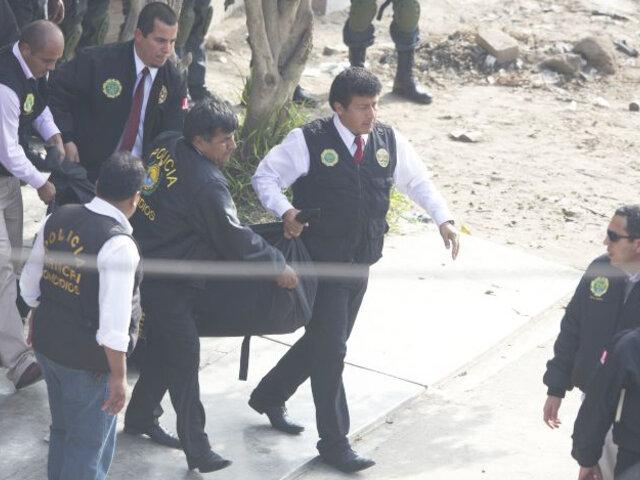 Hombre fue asesinado a puñaladas en distrito de Comas