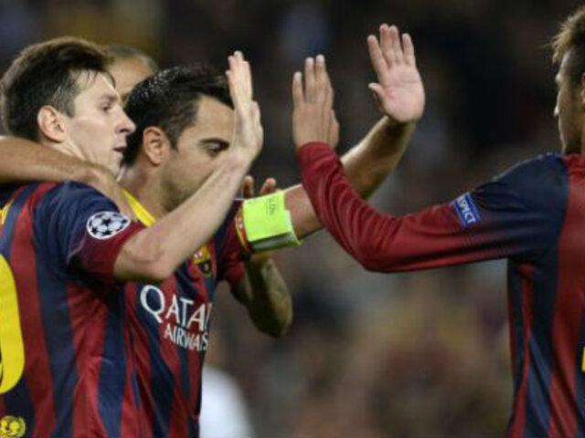 Bloque Deportivo: 'Pulga' picó en la Champions y Barcelona ganó 3-1 al Milan