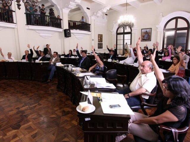 Partidos políticos presentan hoy propuestas para elección de regidores en Lima