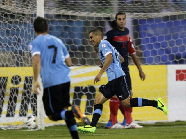 Mundial Brasil 2014: Uruguay no tuvo piedad de Jordania y lo goleó por 5-0