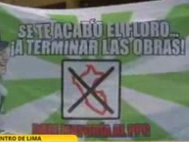 Militantes del PPC a Villarán: Tía te vamos a hacer trabajar un año sin parar