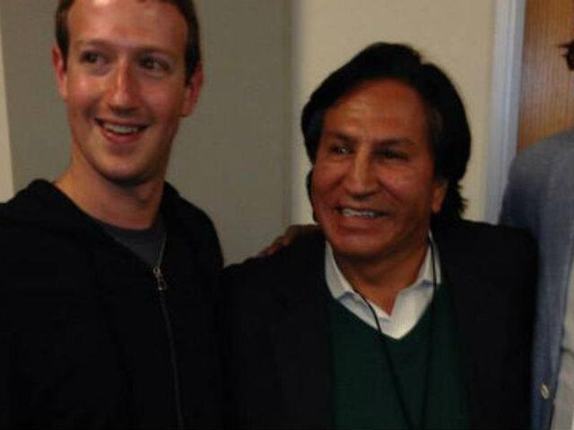 Toledo se olvida de Ecoteva y posa junto a Mark Zuckerberg en EEUU