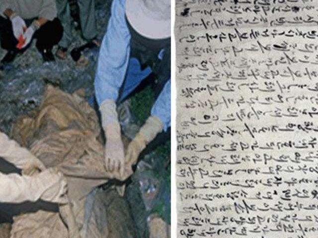 Corea: hallan conmovedora carta de amor junto a momia de 500 años