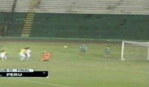 Mire el impresionante gol de Luis Iberico para ganar el Sudamericano Sub 15