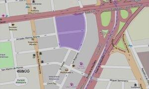 Plan de desvío por restricción de tránsito en perímetro del Hotel Westin