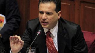 Omar Chehade: Propondremos senadores vitalicios sin inmunidad parlamentaria