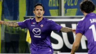 VIDEO: Juan Manuel Vargas anota golazo en la victoria parcial de la Fiorentina
