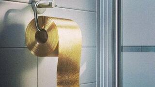 Australia: lanzan al mercado papel higiénico hecho a base de oro de 22 quilates