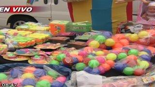 Digesa alerta presencia de juguetes altamente tóxicos en ferias de Lima