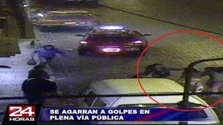 VIDEO: piropo subido de tono desata trifulca en calles de Arequipa