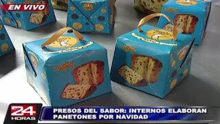 Internos del penal Castro Castro presentan panetones 'San Miguelito'