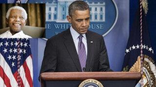 Líderes mundiales enviaron emotivos mensajes por muerte de Nelson Mandela