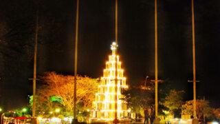 Parque de la Reserva mostrará al público árbol navideño gigante
