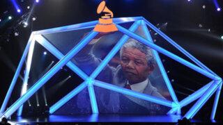 Nelson Mandela fue homenajeado durante nominación de Grammy 2014