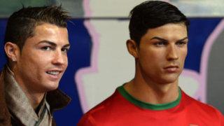 Bloque Deportivo: Cristiano Ronaldo se encuentra con su réplica de cera