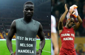 Futbolistas que celebraron gol con mensaje a Mandela serían sancionados