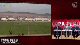 Todo el país vivió la primera final de la Copa Perú a través de Panamericana TV