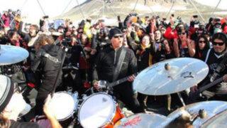 VIDEO: Metallica realizó insólito concierto bajo cero en la Antártida