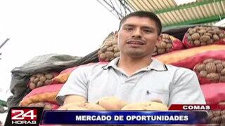 Comas: conozca las ofertas por fiestas navideñas del mercado Unicachi