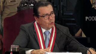 Presidente del PJ rechazó propuesta de aumento progresivo de sueldos para jueces