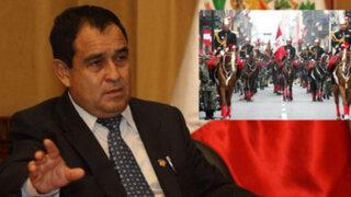 Otárola afirma que gasto millonario en escolta presidencial favorece el turismo