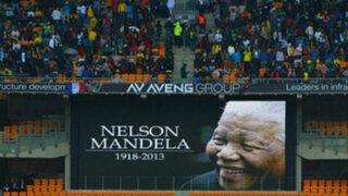 FOTOS: el mundo despide a Nelson Mandela en multitudinaria ceremonia