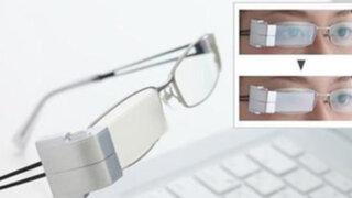 VIDEO: crean anteojos que 'parpadean' solas para evitar cansancio de ojos