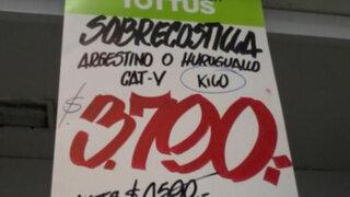 Terribles errores ortográficos en supermercado desatan burlas en redes sociales