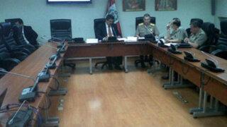 Director de la PNP expone sobre seguridad ciudadana: sólo un congresista lo escucha