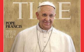 """Papa Francisco fue elegido como la """"Persona del año 2013"""" por la revista Time"""