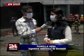 Incendio en La Victoria: así luce el almacén de llantas luego del siniestro