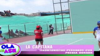 La Capitana nos presenta a los campeones peruanos de la paleta frontón