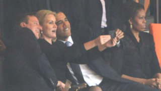 Michelle Obama celosa por fotos de su esposo con primera ministra de Dinamarca