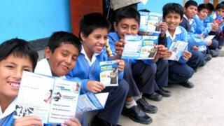 Minsa: Todos los escolares contarán con seguro de salud gratuito para 2014