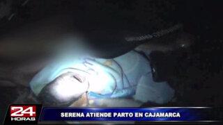 VIDEO: agente de Serenazgo ayudó a una mujer a dar a luz en un caserío de Piura