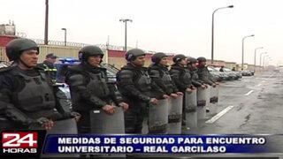 Más de 2500 policías vigilarán  encuentro Universitario vs. Real Garcilaso