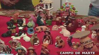 """Artesanos presentan """"Feria de los deseos"""" edición navideña en Campo de Marte"""