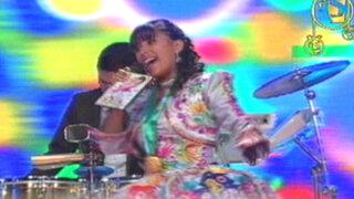 'La Canelita del Folclore' sorprendió con su voz en La Súper Movida