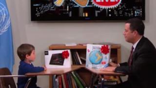 VIDEO: niño rechaza en programa de TV tablet sony porque prefiere un iPad