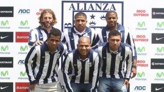 Alianza Lima presentó refuerzos para alcanzar el éxito el 2014