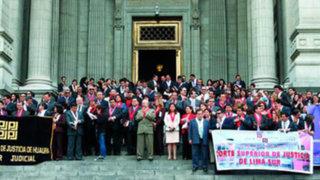Gobierno oficializa primer tramo de aumento de haberes para los jueces