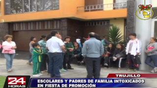 Fiesta de promoción termina en intoxicación masiva en Trujillo
