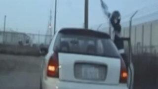 VIDEO: policía se enfrenta a 'Power Ranger' tras tenaz persecución