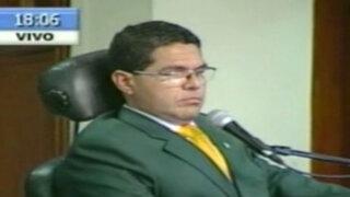 Congreso: aprueban destitución e inhabilitación política a Michael Urtecho