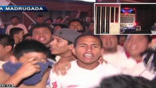 Así fue la llegada de Universitario de Deportes tras la victoria en Huancayo