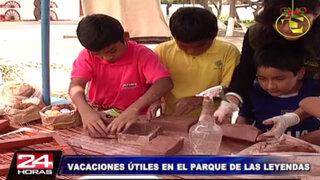 Parque de las Leyendas brindará divertidos talleres en vacaciones útiles 2014