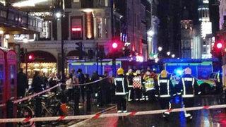 Londres: techo del teatro Apolo colapsa en plena función dejando casi 90 heridos
