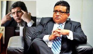 Dr. Reyna: Los informes de la Megacomisión contra Alan García son nulos